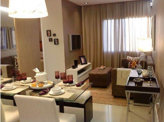 Como Decorar Sala De Tv Moderna ~ SALA DE TV MODERNA 30 ideias de como decorar!