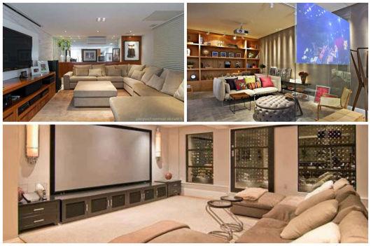 sofá moderno decoração