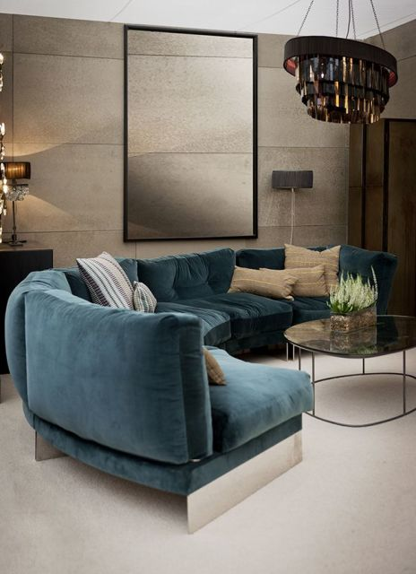 sofá redondo