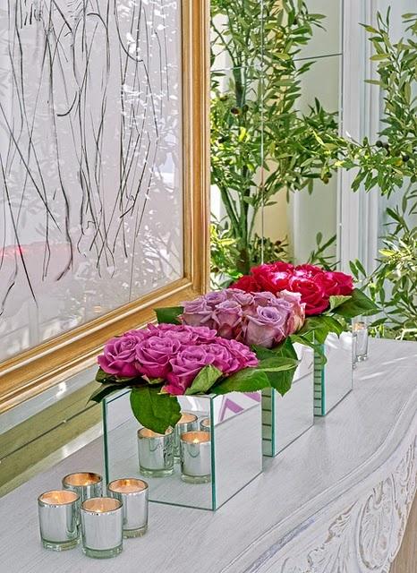 vasinhos flores
