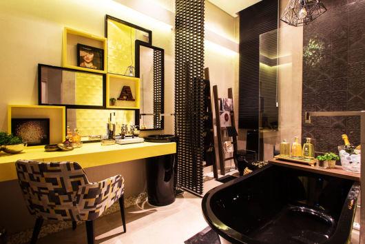 BANHEIRO AMARELO 20 decorações incríveis! -> Cuba De Banheiro Amarelo