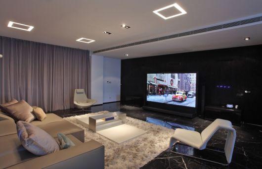 decoração sofisticada sala