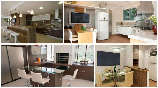 modelos de cozinhas modernas