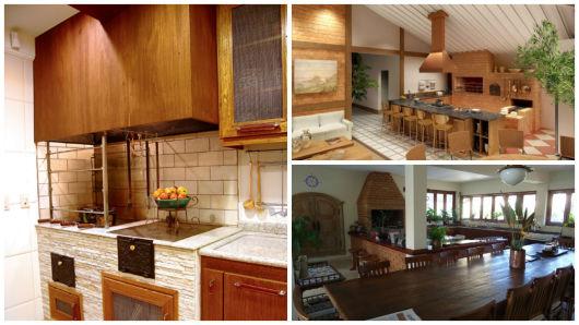 modelos de cozinha rústica