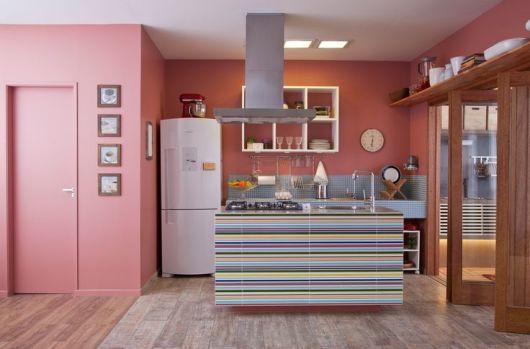 Decoração cozinha integrada