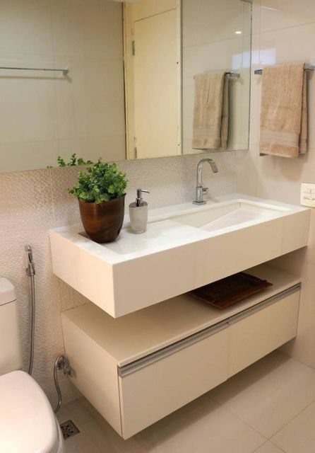 CUBA ESCULPIDA o que é, modelos e materiais! -> Cuba Escupida Banheiro