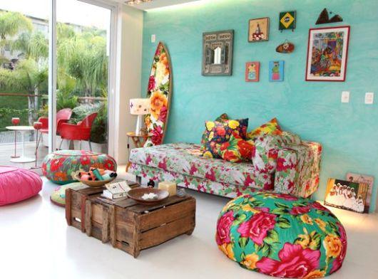 Decora o com chita 25 ideias e passa a passo - Fabrica muebles portugal ...