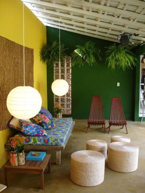 decoracao alternativa e barata para quarto:DECORAÇÃO COM CHITA: 25 ideias e passa a passo!