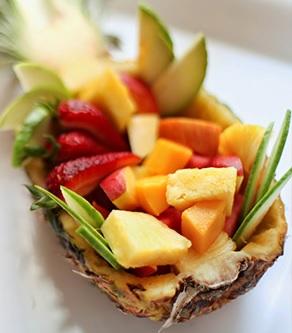 cestinha de frutas