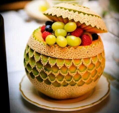 bola de frutas