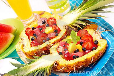 cumbuca de abacaxi