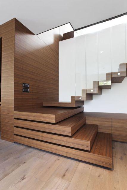 piso de madeira clara