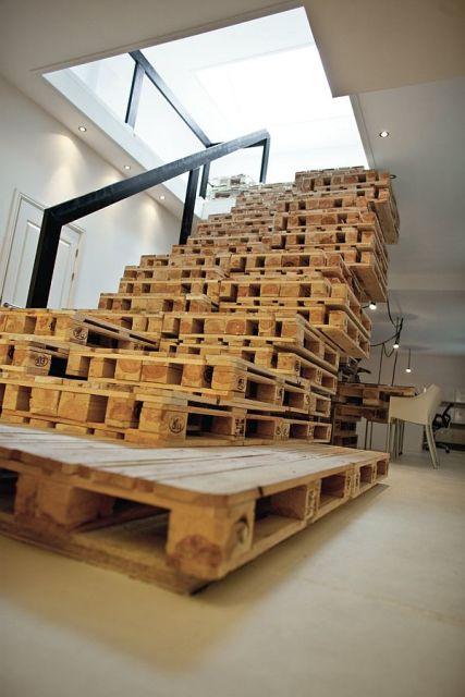 escada de pallet