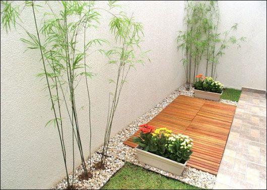 55 jardins pequenos inspiradores dicas e ideias for Plantas en jardines pequenos