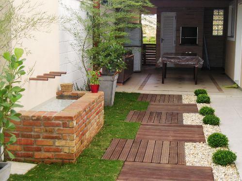 Jardins pequenos 55 fotos for Casas e jardins simples