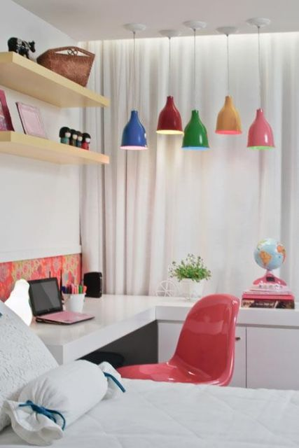 pendentes coloridos