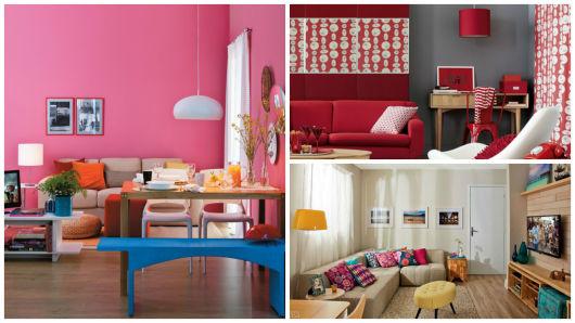 cores para sala