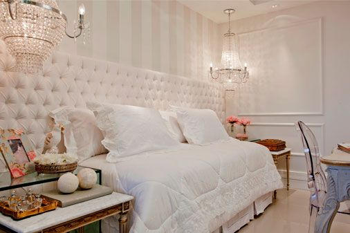 quarto feminino de luxo