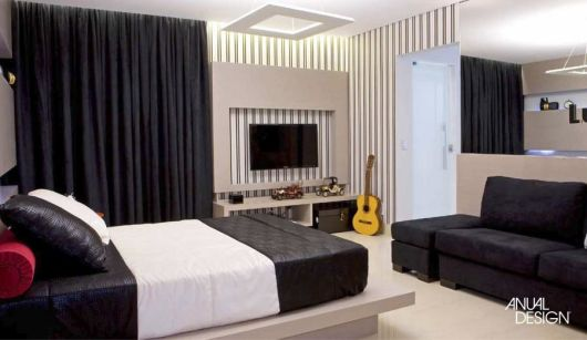 quarto com sofá