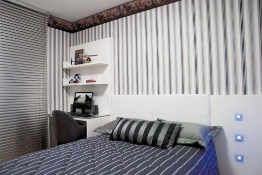 cortina quarto masculino
