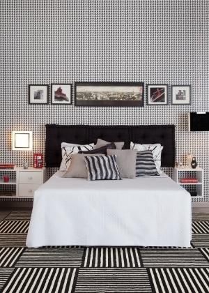 decoração preto e branca