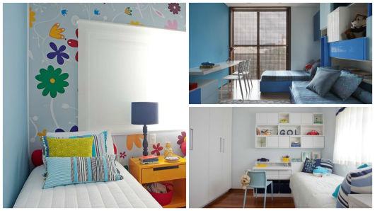 decoração azul infantil
