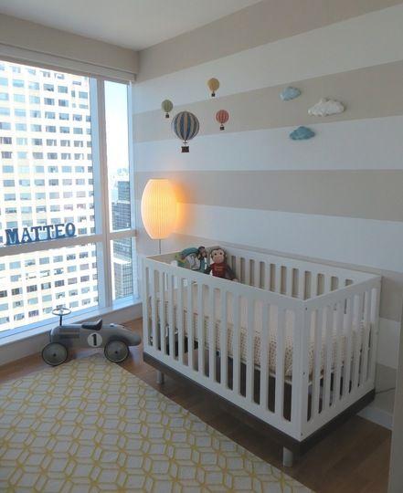 quarto de bebê simples pequeno