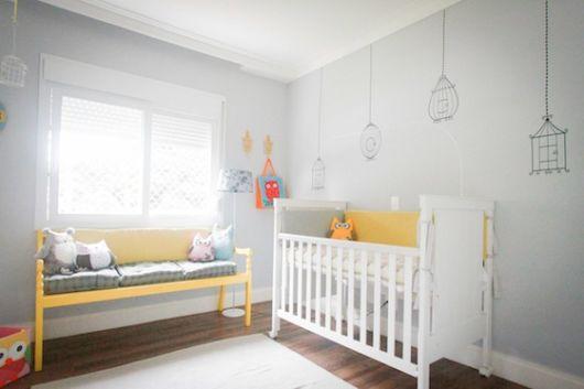 adesivo de parede bebê