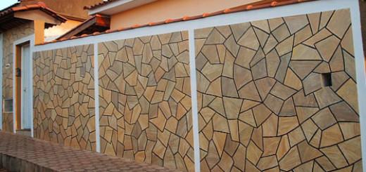 cerâmica imita pedra