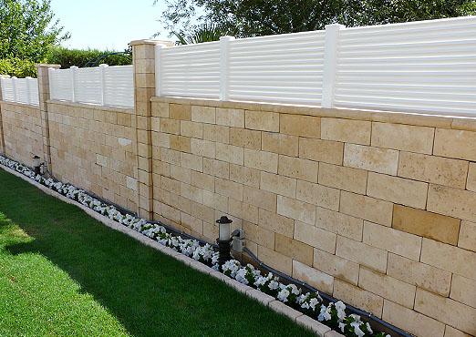 Revestimento para muro tipos e como fazer Tipos de muros
