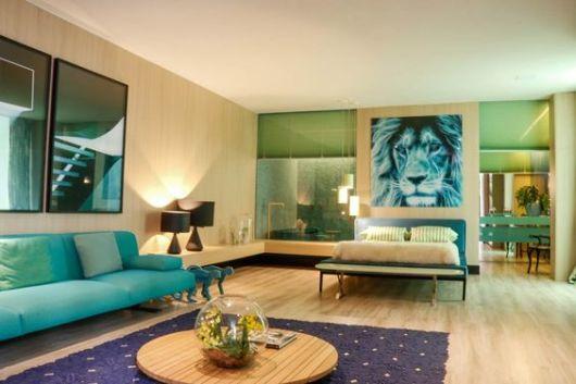Sala De Estar Verde Kiwi ~ SALA DE ESTAR MODERNA como decorar!
