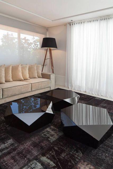 tapete moderno na decoração