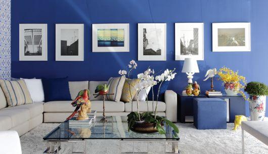 Sala De Estar En Azul ~ sala azul