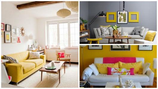 Como Decorar Sala De Estar Moderna ~ Na parede a arandela garante uma iluminação aconchegante