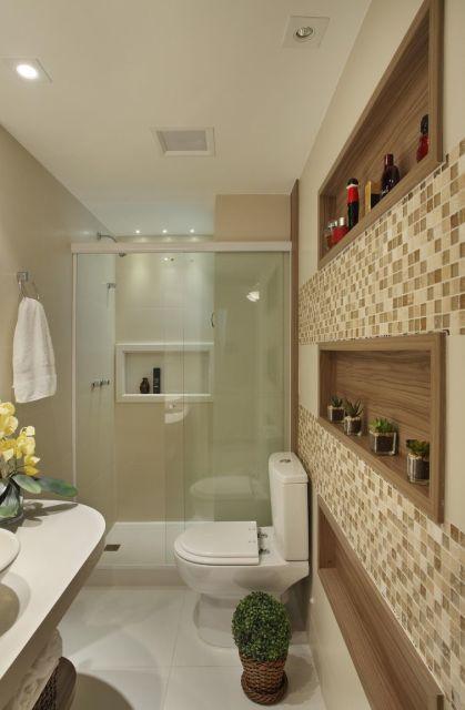 BUXINHO NA DECORAÇÃO como usar dentro e fora de casa! -> Banheiro Decorado Social
