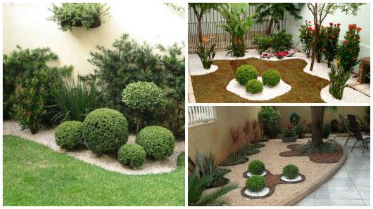 Buxinho na decora o como usar dentro e fora de casa for Jardines redondos pequenos