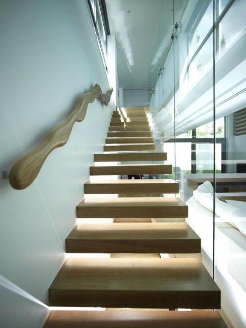 escada parede