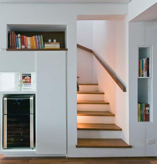 móvel planejado vão escada