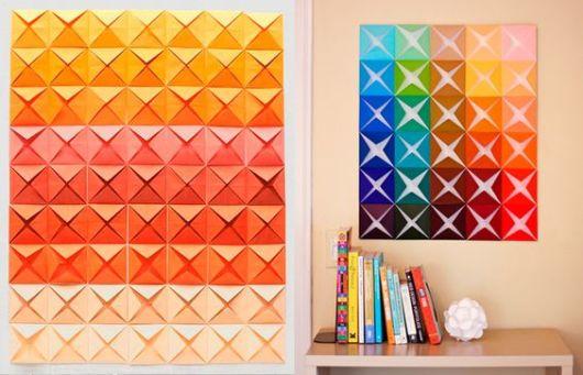 decoração colorida simples