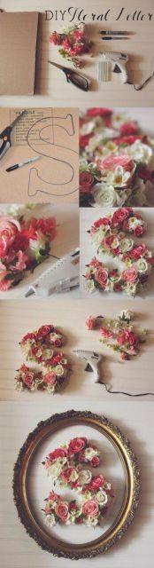 decoração com flores artificiais passo a passo