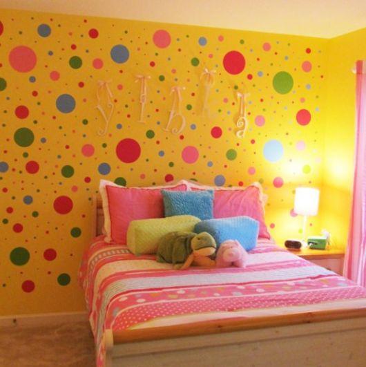 PAREDE AMARELA como decorar e onde usar! ~ Quarto Rosa Amarelo