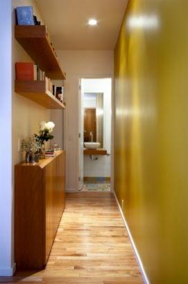 corredor decorado