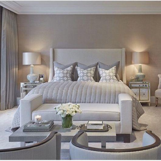 Parede cinza dicas sensacionais onde usar e como fazer for Beautiful main bedrooms