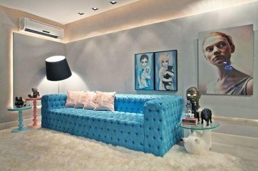 decoração moderna sala