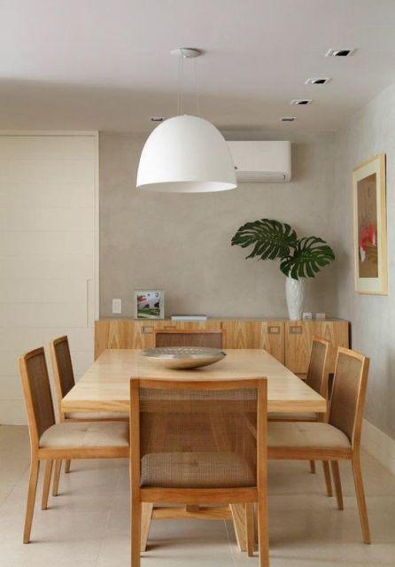 sala de jantar retrô