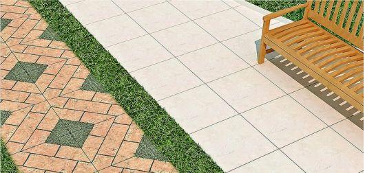 piso que imita grama