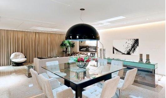 sala de jantar chique