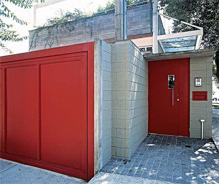 portão colorido