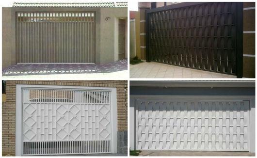 garagem com portão