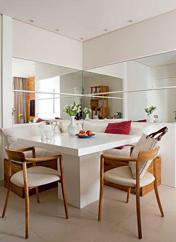 sala de jantar clean